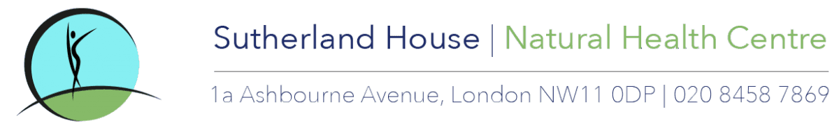 Sutherland House Natural Health Centre logo